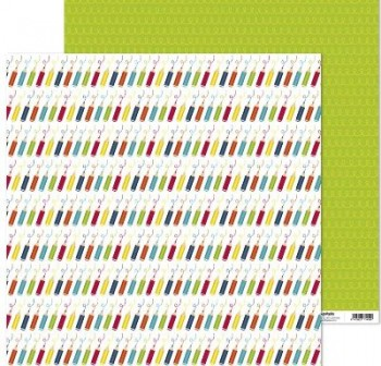 PACK5 PAPEL SCRAP 12x12 COLORES JUEGOS
