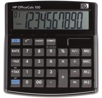 HP Calculadora sobremesa OFFICE CALC100 (solar)