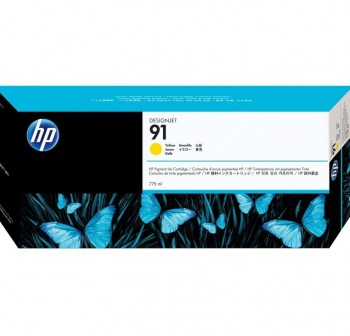 HP Cartucho inkjet C9469A Nº91 (750ml) original AMARILLO