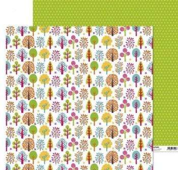 ANITA PAPEL SCRAP 30,48x30,48CM (12x12\c) FANTASIA (BOSQUES)