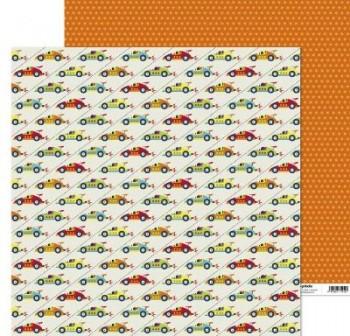 ANITA PAPEL SCRAP 30,48x30,48CM (12x12\c) JUEGOS (COCHES)