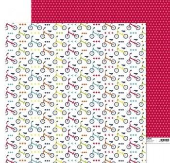 ANITA PAPEL SCRAP 30,48x30,48CM (12x12\c) JUEGOS (BICICLETA)