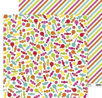 ANITA PAPEL SCRAP 30,48x30,48CM (12x12\c) FIESTA (CARAMELOS)
