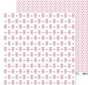 ANITA PAPEL SCRAP 30,48x30,48CM (12x12\c) MI PRINCERSA (OSITOS)