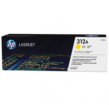 HP Toner laser CF382A original (2,7k) AMARILLO nº312A