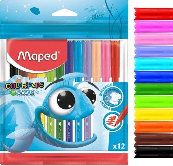 "MAPED Rotuladores ocean \""color'peps\"" caja 12 unidades"