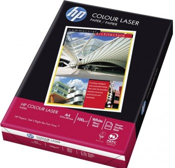 HP Pack 500h papel color laser 100gr A4