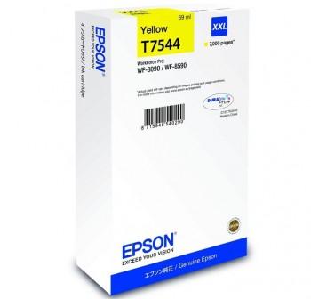 EPSON Cartucho inkjet T7544 AMARILLO XLL original (7k)