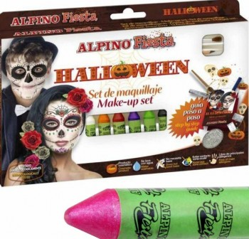 ALPINO Set de barras de maquillaje para cara (6) HALLOWEEN