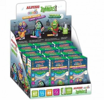 "ALPINO Set magic dough walking zombie ""BLOODY\"""