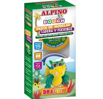 "ALPINO Set magic dough collection ""DRAGON\"""