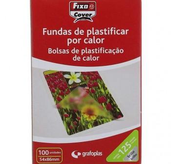 FIXO Laminas plastificar 54x86 125micras (100udes)