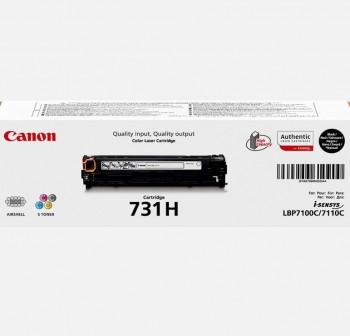 CANON Toner laser 731HBK original NEGRO