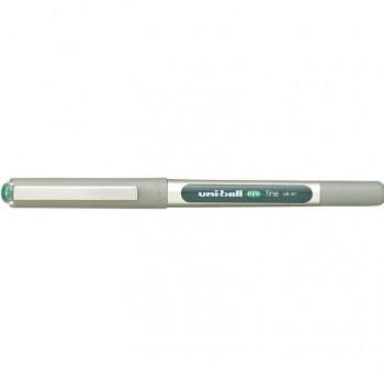 Rotulador punta bola Uni-ball eye fine trazo 0,7mm verde