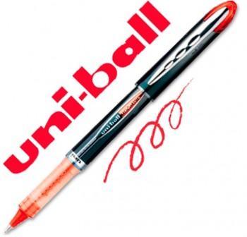 Rotulador punta bola Uni-ball vision elite trazo 0,5mm rojo