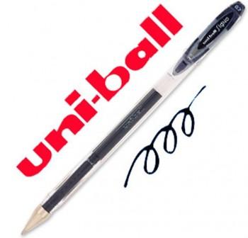 Bolígrafo tinta gel Uni-ball signo trazo 0,7mm negro
