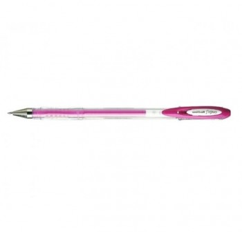 Bolígrafo Tinta gel Uni-ball angelic trazo 0,7mm rosa