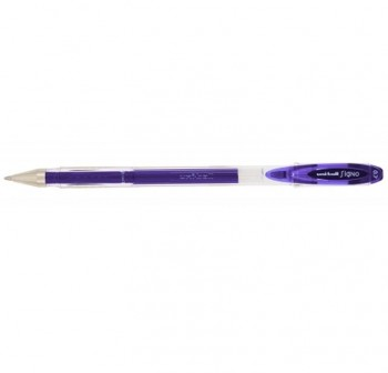 Bolígrafo Tinta gel Uni-ball signo trazo 0,7mm violeta