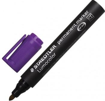 Rotulador permanente marker trazo 2mm violeta