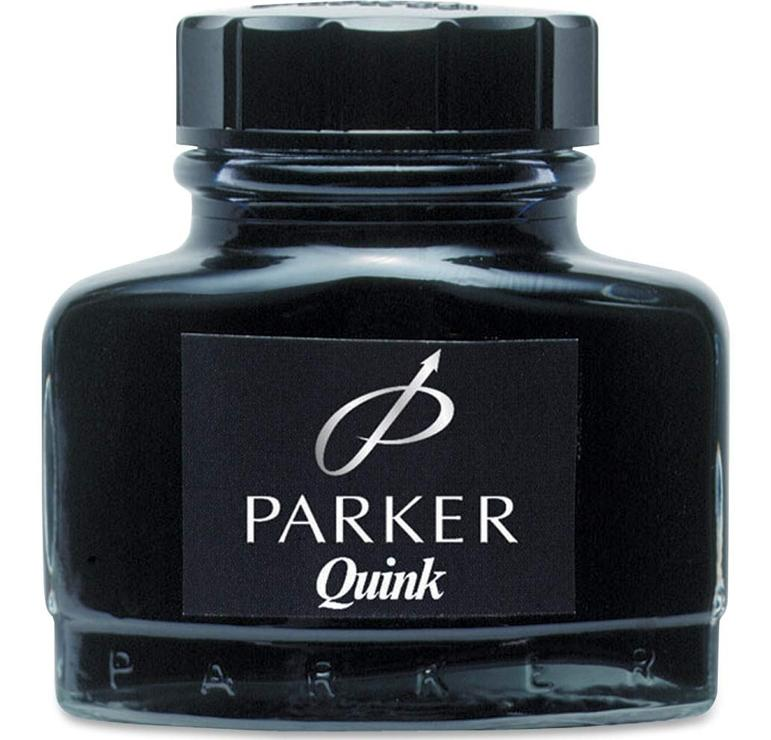 Botella Tinta Parker super quik permanente 57ml negro