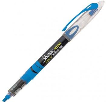 Rotulador fluorescente liquid accent trazo 3Mm azul