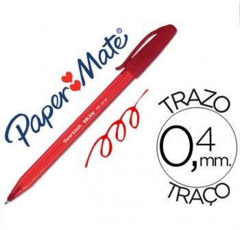Boligrafo Paper Mate Inkjoy 100 rojo