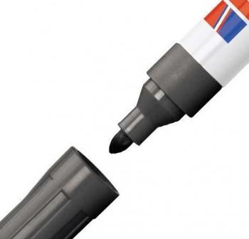 Marcador pizarra blanca Edding 660 trazo 1,5-3mm negro