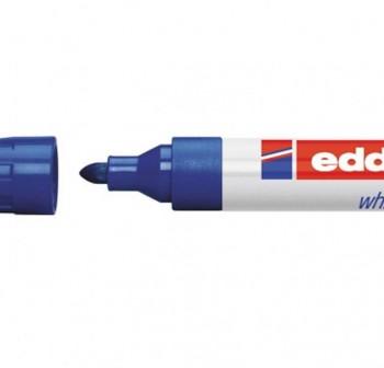 Marcador pizarra blanca Edding 660 trazo 1,5-3mm azul