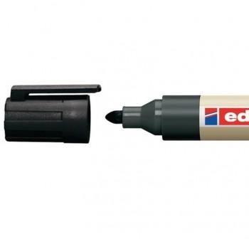 Marcador permanente Edding ecoline 21 punta redonda, rellenable con la tinta MTK 25 trazo 1,5-3 mm n