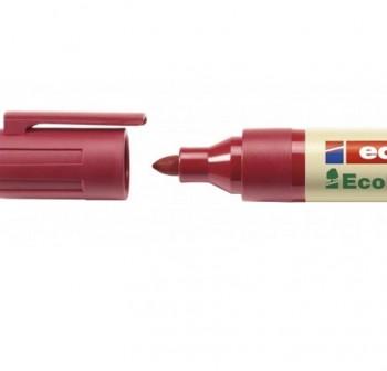 Marcador permanente Edding ecoline 21 punta redonda, rellenable con la tinta MTK 25 trazo 1,5-3 mm r