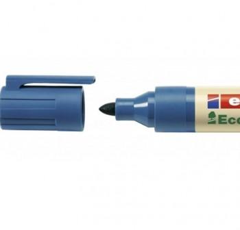 Marcador permanente Edding ecoline 21 punta redonda, rellenable con la tinta MTK 25 trazo 1,5-3 mm a