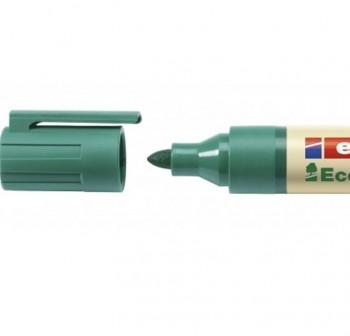 Marcador permanente Edding ecoline 21 punta redonda, rellenable con la tinta MTK 25 trazo 1,5-3 mm v