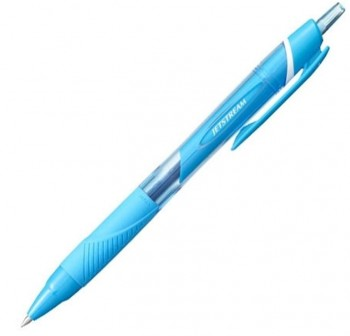 Bolígrafo retráctil Uni-ball  Jetstream 0,7 mm azul claro