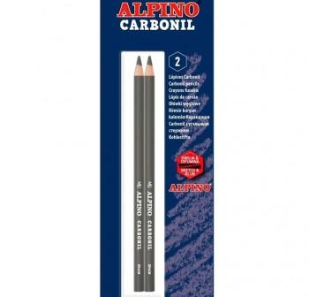 Blister 2 unidades de Lapiz de dibujo con mina carboncillo