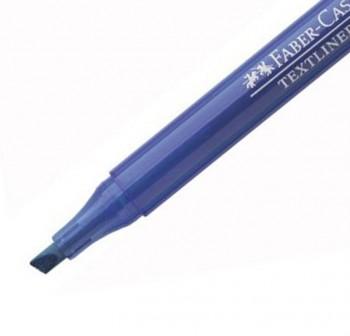 Marcador fluorescente Textliner 38 color azul