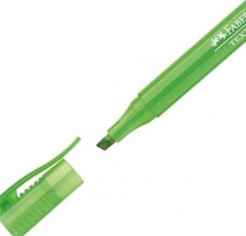 Marcador fluorescente Textliner 38 color verde