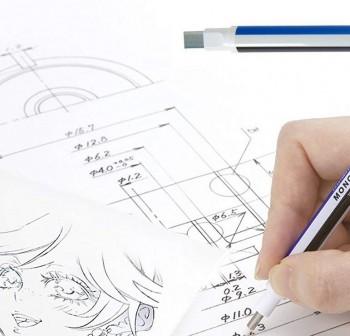 Borrador de precisión Mono Zero punta rectangular