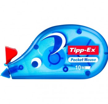 Cinta correctora Tipp-ex Pocket Mouse 10mx4,2mm