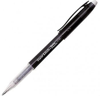 Bolígrafo gel Replay Premium borrable  negro
