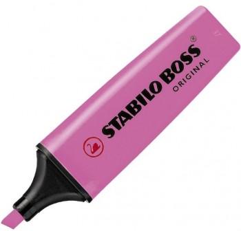 Marcador fluorescente Stabilo Boss pastel trazo 5mm brisa violeta