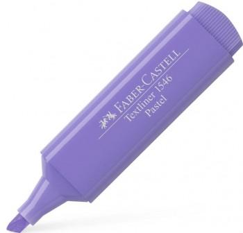 Faber-Castell Marcador fluorescente Textliner 1546 lila pastel