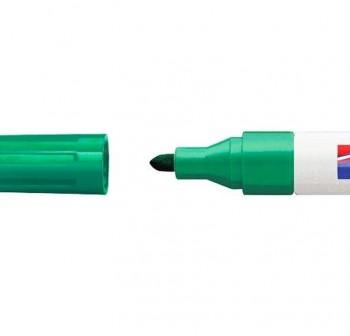 edding Marcador permanente tinta opaca edding 750 punta cónica trazo 2-4mm verde