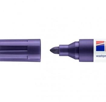 edding Marcador permanente tinta opaca edding 750 punta cónica trazo 2-4mm violeta