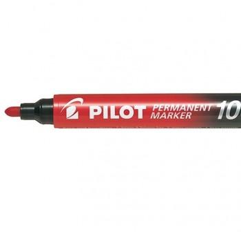 Pilot Marcador permanente SCA-100 punta cónica trazo 1mm rojo