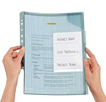 Pack 10 Dossiers organ multitaladro con tarjeta