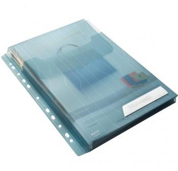 LEITZ Pack 3 Funda-dossiers multitaladro A4 con fuelle