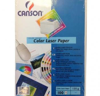 CANSON Papel laser Din-A4 135gr. 100h.