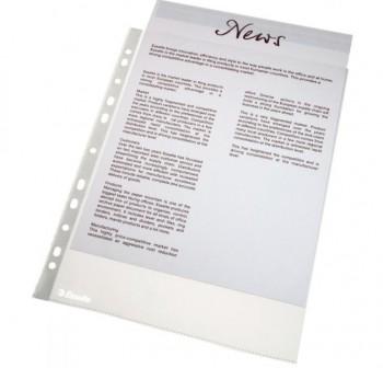 ESSELTE Funda multitaladro A4 caja 100 unidades