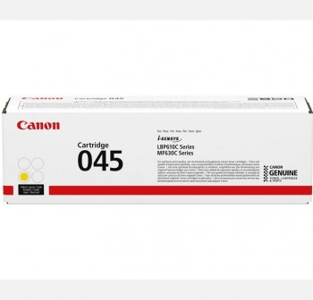 CANON toner laser 045Y original AMARILLO (1,3k)