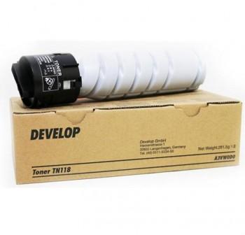 DEVELOP/MINOLTA Toner laser TN-118 negro original (7k)